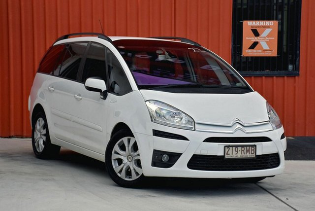 Used Citroen C4 Picasso  HDi EGS, 2011 Citroen C4 Picasso HDi EGS White 6 Speed Sports Automatic Single Clutch Wagon