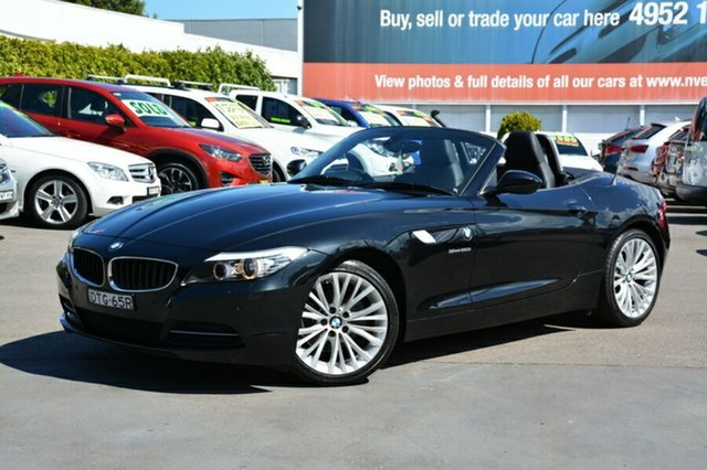 Used BMW Z4 E89 MY0312 sDrive20i, 2012 BMW Z4 E89 MY0312 sDrive20i Black 8 Speed Sports Automatic Roadster