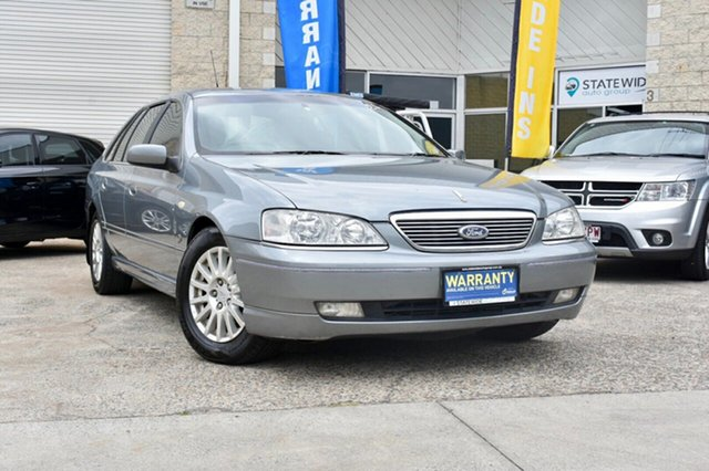 Used Ford Fairlane BA Ghia, 2004 Ford Fairlane BA Ghia Silver 4 Speed Sports Automatic Sedan