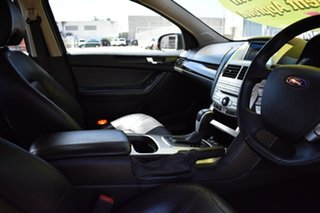 2009 Ford Falcon FG G6E Black 6 Speed Sports Automatic Sedan