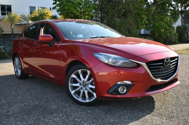 Used Mazda 3 BM5236 SP25 SKYACTIV-MT Astina, 2014 Mazda 3 BM5236 SP25 SKYACTIV-MT Astina Red 6 Speed Manual Sedan