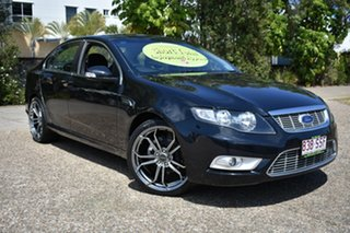 2009 Ford Falcon FG G6E Black 6 Speed Sports Automatic Sedan.