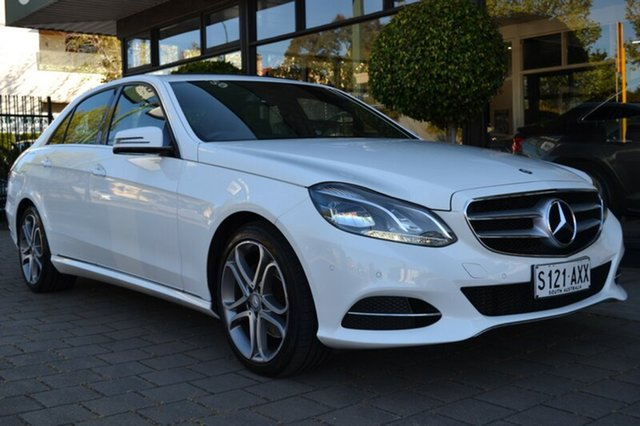 Used Mercedes-Benz E220 W212 MY13 7G-Tronic +, 2013 Mercedes-Benz E220 W212 MY13 7G-Tronic + White 7 Speed Sports Automatic Sedan