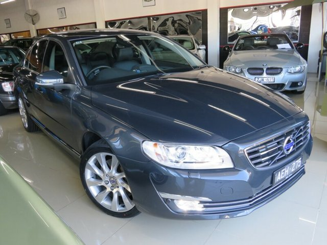 Used Volvo S80 MY15 T6 Luxury AWD, 2015 Volvo S80 MY15 T6 Luxury AWD Saville Grey 6 Speed Automatic Sedan