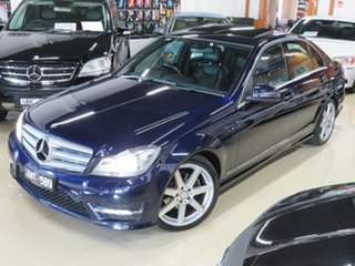 2012 Mercedes-Benz C250 W204 MY12 CDI Avantgarde BE Sapphire Blue 7 Speed Automatic G-Tronic Wagon