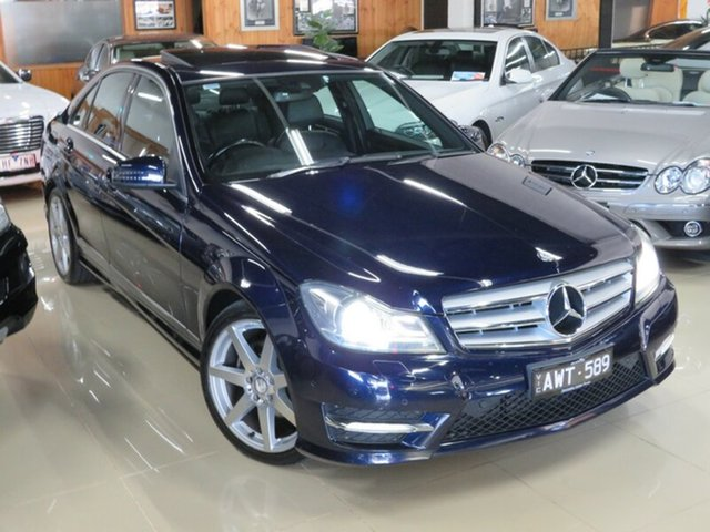 Used Mercedes-Benz C250 W204 MY12 CDI Avantgarde BE, 2012 Mercedes-Benz C250 W204 MY12 CDI Avantgarde BE Sapphire Blue 7 Speed Automatic G-Tronic Wagon