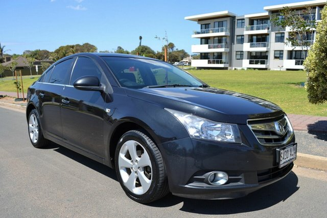 Used Holden Cruze JG CDX, 2010 Holden Cruze JG CDX Black 5 Speed Manual Sedan