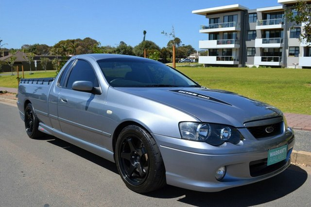 Used Ford Falcon BA Mk II XR8 Ute Super Cab, 2005 Ford Falcon BA Mk II XR8 Ute Super Cab Grey 6 Speed Manual Utility