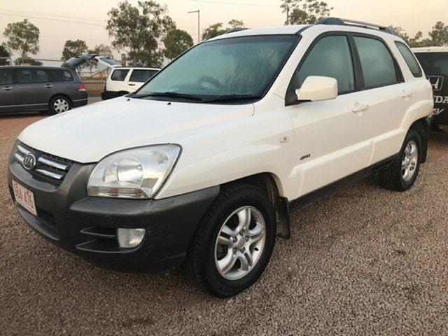 Used Kia Sportage KM , 2005 Kia Sportage KM White 4 Speed Sports Automatic Wagon