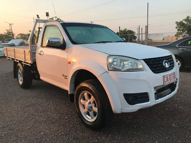 Used Great Wall V240 K2 MY11 , 2011 Great Wall V240 K2 MY11 White 5 Speed Manual Cab Chassis