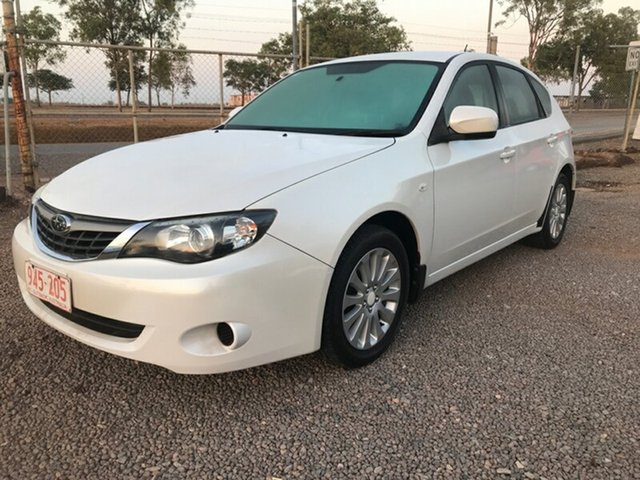 Used Subaru Impreza G3 MY09 R AWD, 2009 Subaru Impreza G3 MY09 R AWD White 4 Speed Sports Automatic Hatchback
