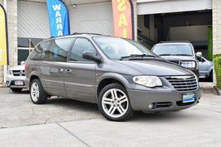 2004 Chrysler Grand Voyager RG 4th Gen MY05 Limited Grey 4 Speed Automatic Wagon.