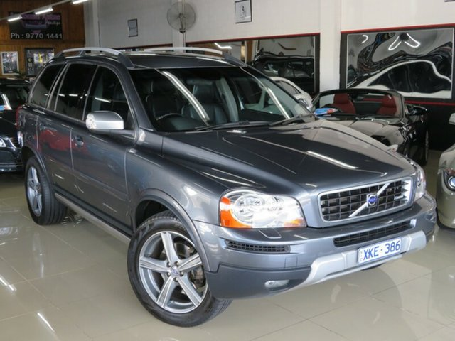 Used Volvo XC90 MY10 3.2 R-Design, 2009 Volvo XC90 MY10 3.2 R-Design Grey 6 Speed Automatic Geartronic Wagon