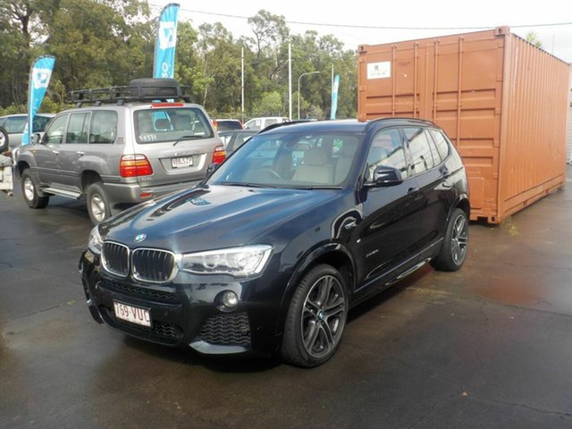 Used BMW X3 F25 MY15 xDrive 20I, 2015 BMW X3 F25 MY15 xDrive 20I Black 8 Speed Automatic Wagon