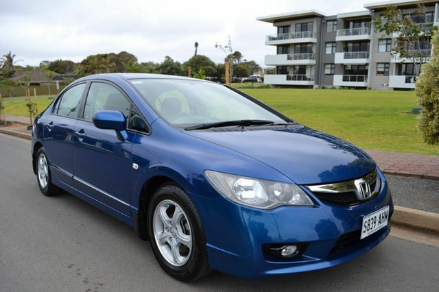 Used Honda Civic 8th Gen MY10 Limited Edition, 2010 Honda Civic 8th Gen MY10 Limited Edition Blue 5 Speed Manual Sedan
