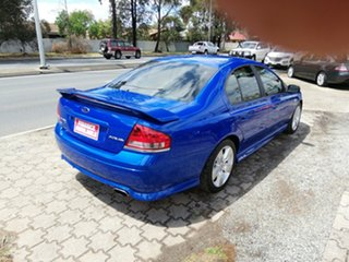 2006 Ford Falcon BF Mk II XR6 Blue 4 Speed Sports Automatic Sedan