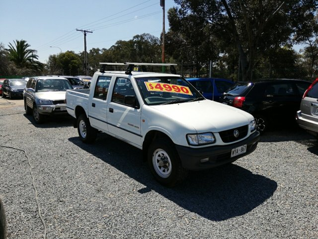 Used Holden Rodeo TF MY02 LT Crew Cab 4x2, 2002 Holden Rodeo TF MY02 LT Crew Cab 4x2 White 4 Speed Automatic Utility