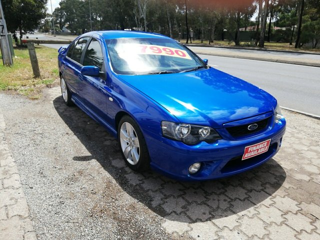Used Ford Falcon BF Mk II XR6, 2006 Ford Falcon BF Mk II XR6 Blue 4 Speed Sports Automatic Sedan