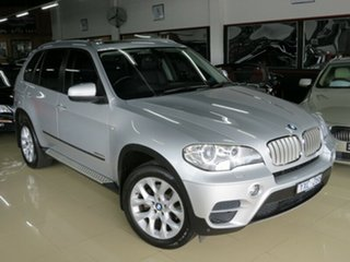 2012 BMW X5 E70 MY12 Upgrade xDrive 30D Titan Silver 8 Speed Automatic Sequential Wagon.