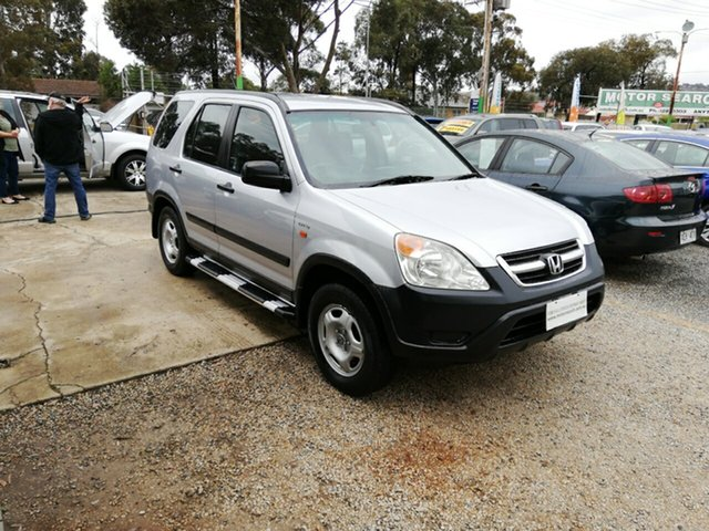 Used Honda CR-V RD MY2002 4WD, 2002 Honda CR-V RD MY2002 4WD Silver 4 Speed Automatic Wagon