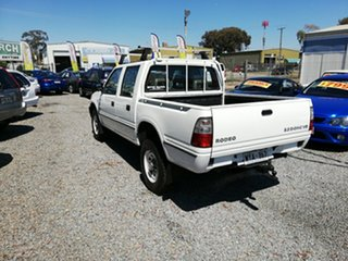 2002 Holden Rodeo TF MY02 LT Crew Cab 4x2 White 4 Speed Automatic Utility