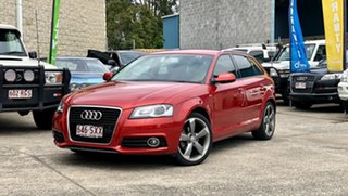 2012 Audi A3 8P MY13 Ambition Sportback S tronic Red 7 Speed Sports Automatic Dual Clutch Hatchback