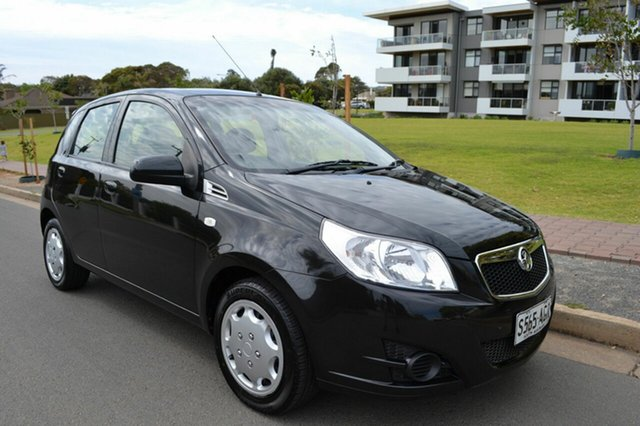 Used Holden Barina TK MY09 , 2009 Holden Barina TK MY09 Black 4 Speed Automatic Hatchback