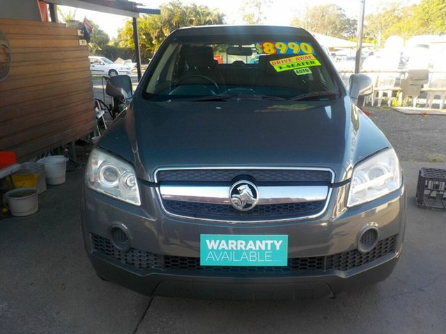Used Holden Captiva CG MY10 SX (4x4), 2010 Holden Captiva CG MY10 SX (4x4) Grey 5 Speed Automatic Wagon
