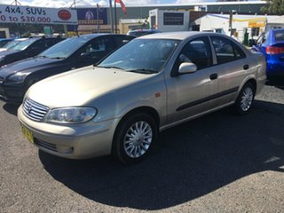 2004 Nissan Pulsar Auto ST Gold 4 Speed Automatic Sedan.