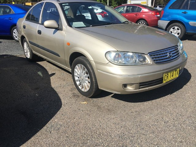 Used Nissan Pulsar Auto ST, 2004 Nissan Pulsar Auto ST Gold 4 Speed Automatic Sedan