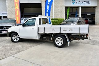 2006 Mazda BT-50 UNY0W3 DX 4x2 White 5 Speed Manual Cab Chassis