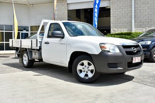 2006 Mazda BT-50 UNY0W3 DX 4x2 White 5 Speed Manual Cab Chassis.