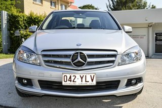 2010 Mercedes-Benz C220 CDI W204 MY10 Classic Silver 5 Speed Automatic Sedan