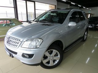 2008 Mercedes-Benz ML280 CDI W164 08 Upgrade 4x4 Sterling Silver 7 Speed Automatic G-Tronic Wagon.