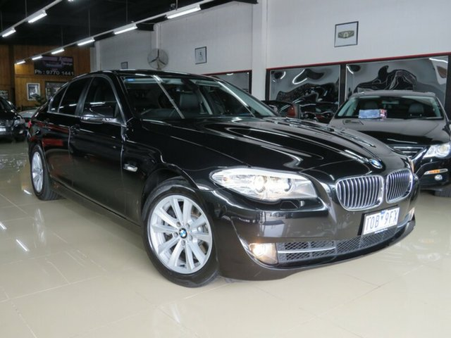 Used BMW 520i F10 MY12 , 2012 BMW 520i F10 MY12 Black Crystal 8 Speed Automatic Sedan