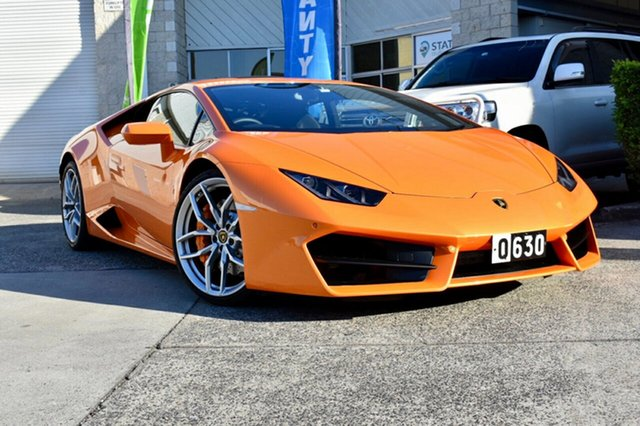 Used Lamborghini Huracan 724 MY18 LP580-2 D-CT, 2018 Lamborghini Huracan 724 MY18 LP580-2 D-CT Orange 7 Speed Sports Automatic Dual Clutch Coupe