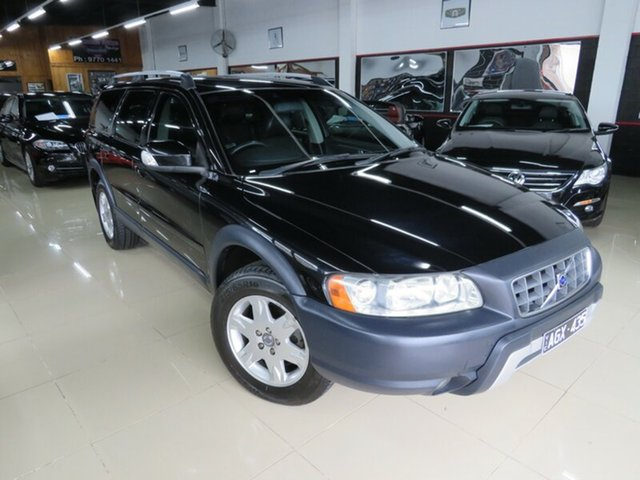 Used Volvo XC70 BZ D5, 2007 Volvo XC70 BZ D5 Black Crystal 6 Speed Automatic Geartronic Wagon