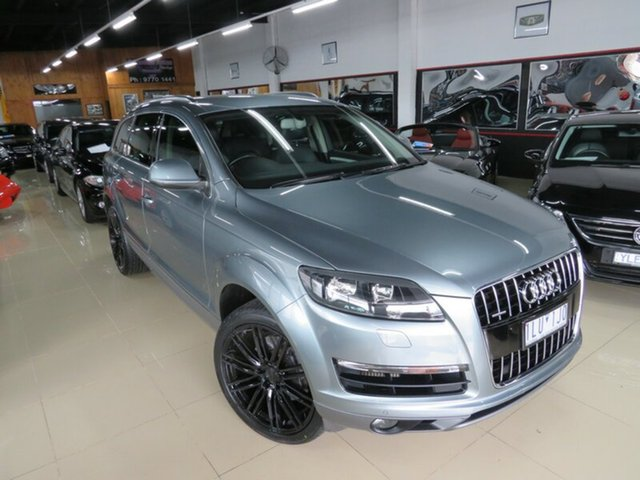 Used Audi Q7 MY11 3.0 TDI Quattro, 2010 Audi Q7 MY11 3.0 TDI Quattro Daytona Grey 8 Speed Automatic Tiptronic Wagon