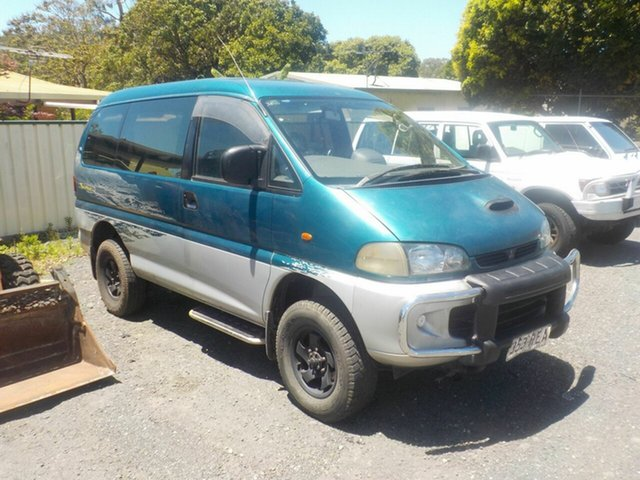 Used Mitsubishi Delica  Chamonix (spacegear), 1997 Mitsubishi Delica Chamonix (spacegear) Green 4 Speed Automatic Wagon