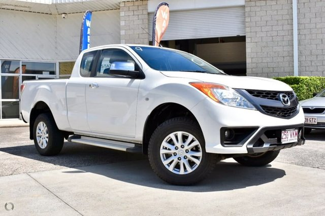 Used Mazda BT-50 UP0YF1 XTR Freestyle, 2014 Mazda BT-50 UP0YF1 XTR Freestyle White 6 Speed Sports Automatic Utility