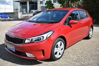 2017 Kia Cerato YD MY17 Sport Red 6 Speed Sports Automatic Hatchback.