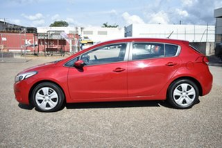 2017 Kia Cerato YD MY17 Sport Red 6 Speed Sports Automatic Hatchback