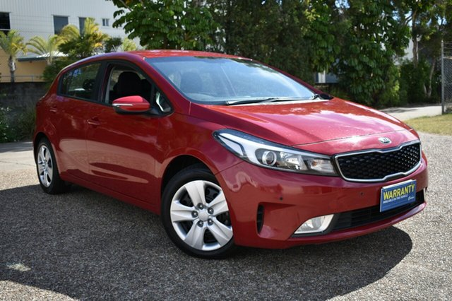 Used Kia Cerato YD MY17 Sport, 2017 Kia Cerato YD MY17 Sport Red 6 Speed Sports Automatic Hatchback