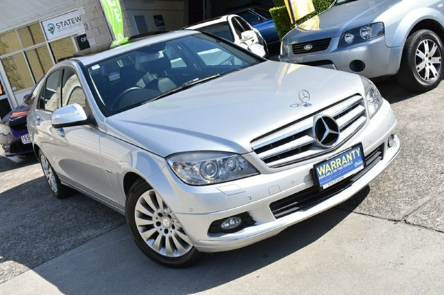 Used Mercedes-Benz C220 CDI W204 Elegance, 2008 Mercedes-Benz C220 CDI W204 Elegance Silver 5 Speed Automatic Sedan