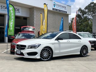 2016 Mercedes-Benz CLA250 C117 806MY Sport DCT 4MATIC White 7 Speed Sports Automatic Dual Clutch.