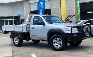 2009 Mazda BT-50 UNY0E4 DX Silver 5 Speed Manual Cab Chassis.