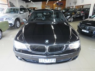 2008 BMW 740i E65 Sport Royal Black 6 Speed Auto Steptronic Sedan