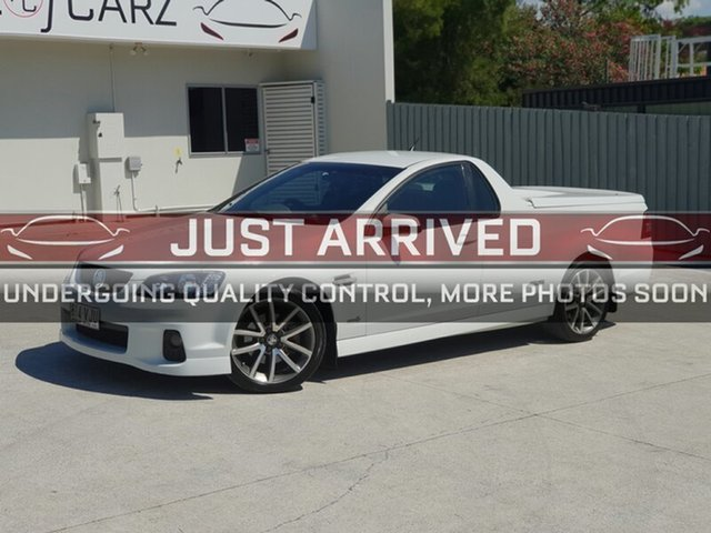 Used Holden Ute VE II MY12 SS, 2011 Holden Ute VE II MY12 SS White 6 Speed Sports Automatic Utility