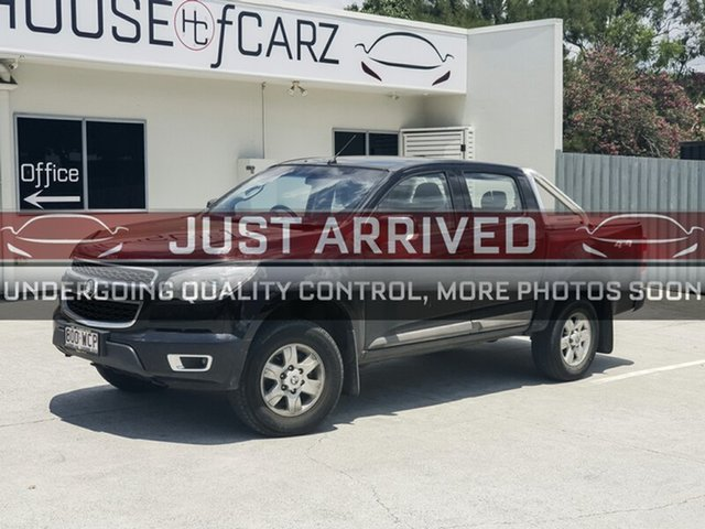 Used Holden Colorado RG MY16 LS-X Crew Cab, 2015 Holden Colorado RG MY16 LS-X Crew Cab Black 6 Speed Sports Automatic Utility
