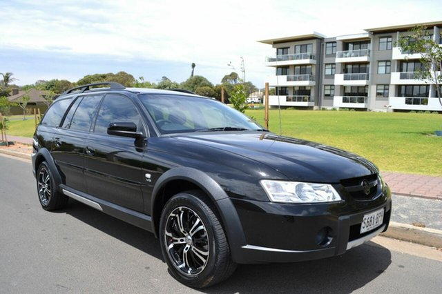 Used Holden Adventra VZ (VY II) CX8, 2005 Holden Adventra VZ (VY II) CX8 Black 4 Speed Automatic Wagon